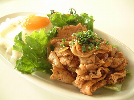 D&DEPARTMENT DINING TOKYO:世田谷区奥沢:ポークジンジャー 945円