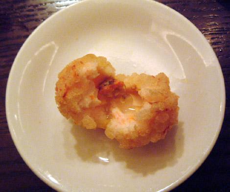 上海蟹みそ入り海老の肉揚げパン