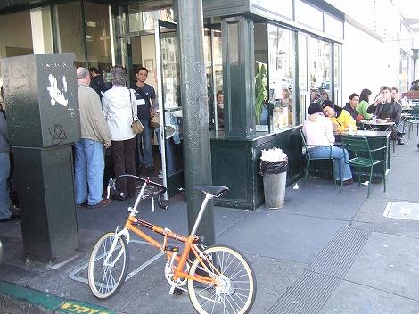 ある日のポタ食:サンフランシスコ~ナパバレーポタリング