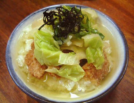 とんかつ茶漬け すずや:新宿区歌舞伎町03