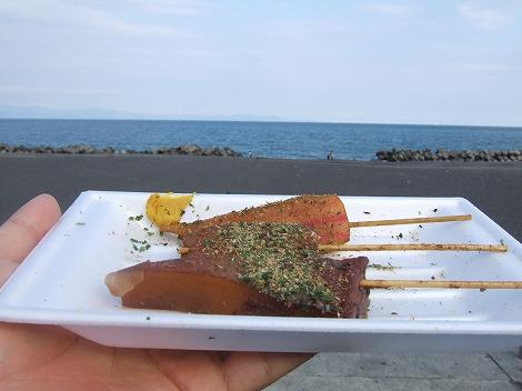 ある日のポタ食:富士宮・静岡ツーリング